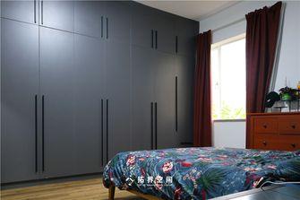 90平米三室三厅混搭风格卧室效果图