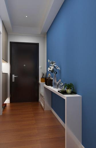 120平米三室一厅混搭风格玄关欣赏图
