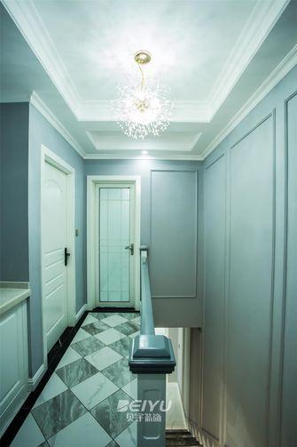 140平米复式美式风格楼梯间效果图