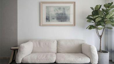 100平米三室一厅日式风格客厅图