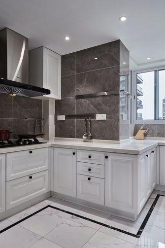 130平米三英伦风格厨房效果图