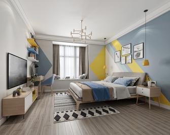 15-20万120平米三室两厅北欧风格卧室装修案例