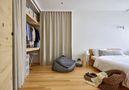 120平米三田园风格卧室图片