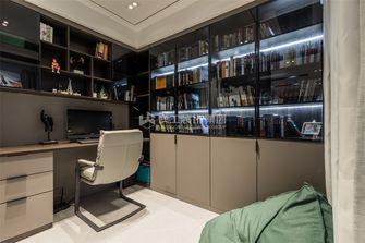 140平米四室两厅现代简约风格书房装修案例