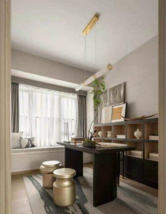 140平米三室两厅混搭风格书房装修效果图