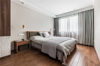 90平米三室三厅北欧风格卧室图