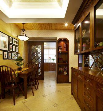 70平米田园风格客厅图片