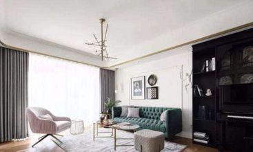 110平米一居室欧式风格客厅装修图片大全