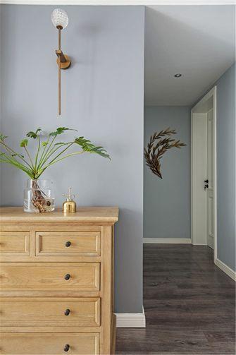 70平米三室两厅美式风格走廊装修效果图