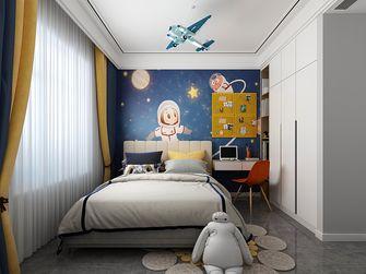 90平米三室两厅现代简约风格儿童房图