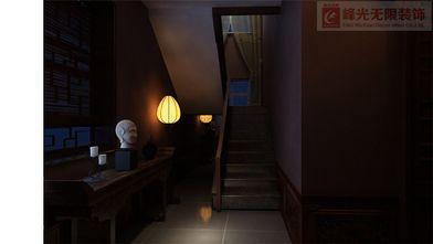 140平米三室两厅中式风格楼梯装修案例