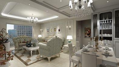 120平米三室两厅欧式风格餐厅设计图