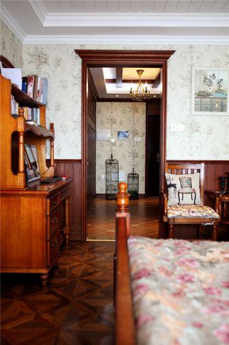 120平米一室一厅新古典风格书房设计图