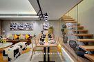 富裕型120平米三室两厅现代简约风格餐厅装修效果图
