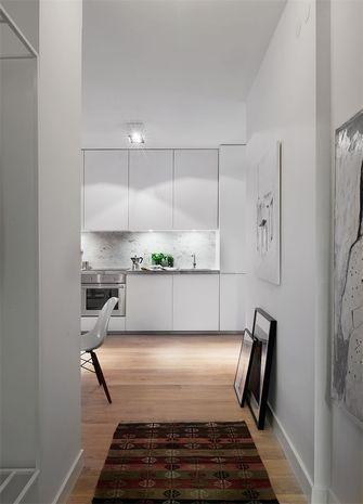 50平米一室一厅北欧风格玄关设计图