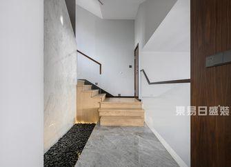 140平米四室三厅现代简约风格楼梯间图片大全