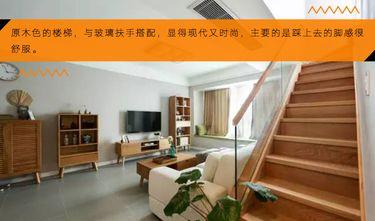 80平米三室一厅宜家风格楼梯间设计图