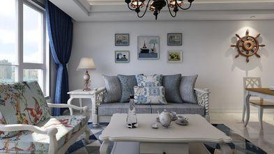 80平米三地中海风格客厅设计图