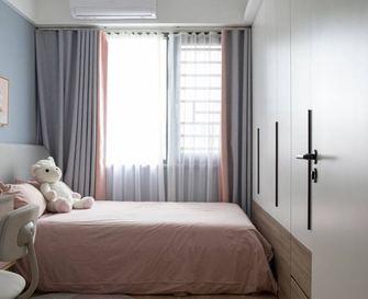 80平米三现代简约风格儿童房效果图