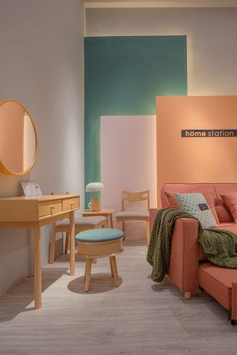 豪华型140平米三室四厅北欧风格梳妆台设计图