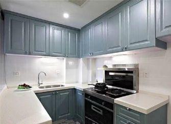 60平米一室一厅现代简约风格厨房设计图