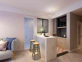 60平米一室一厅现代简约风格餐厅装修案例