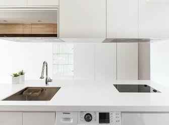 50平米公寓现代简约风格厨房欣赏图