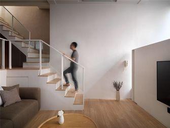 90平米复式北欧风格楼梯间图片大全