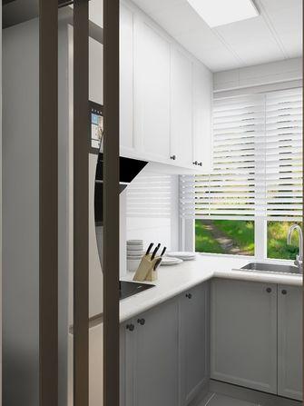 100平米现代简约风格厨房图