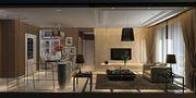 经济型140平米三室两厅现代简约风格客厅图
