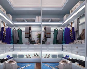 120平米三室两厅欧式风格衣帽间设计图