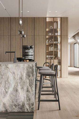 120平米三室三厅现代简约风格餐厅图片