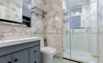 110平米三室三厅美式风格卫生间设计图