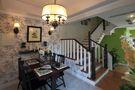 20万以上140平米三室一厅欧式风格楼梯设计图
