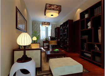 140平米别墅中式风格书房效果图