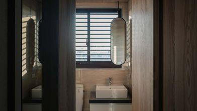 60平米一室一厅日式风格卫生间设计图