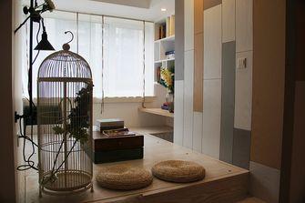 富裕型90平米三室两厅田园风格储藏室装修图片大全