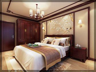 90平米中式风格卧室装修案例