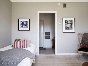 5-10万60平米一室一厅北欧风格卧室图片