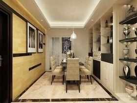 富裕型130平米三室兩廳混搭風格餐廳圖