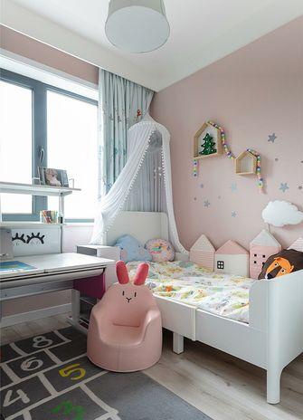 80平米三室一厅北欧风格儿童房图片