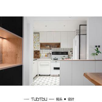 豪华型90平米三室一厅现代简约风格厨房装修案例