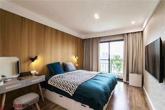90平米复式日式风格卧室图