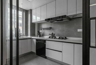 130平米三室一厅现代简约风格厨房装修图片大全