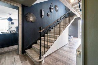 富裕型140平米别墅现代简约风格楼梯欣赏图