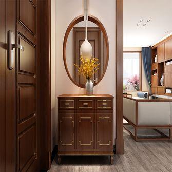 130平米三室三厅中式风格玄关欣赏图