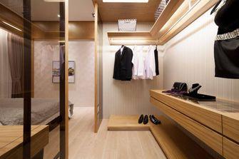 130平米三室一厅日式风格衣帽间鞋柜效果图