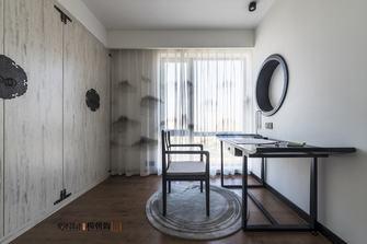 100平米中式风格书房设计图