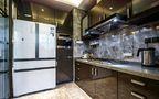 140平米四室一厅现代简约风格厨房图