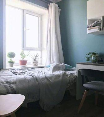 60平米一室两厅混搭风格卧室图片